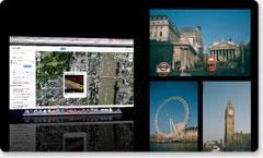 Graba cualquier cosa que aparezca en la pantalla del ordenador: sitios web, software, videollamadas o presentaciones de PowerPoint.