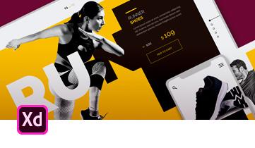 Adobe XD: Diseña, crea prototipos y comparte experiencias de usuario fascinantes para sitios web, dispositivos móviles, voz y mucho más.