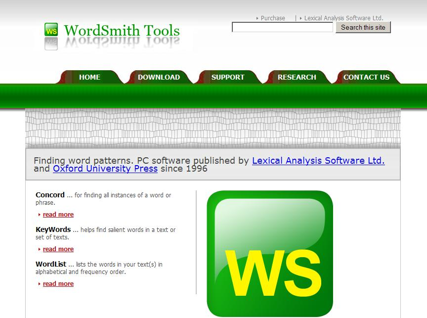 wordsmith tools